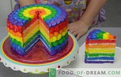 Estamos sorprendidos por el sabor y el color: pastel