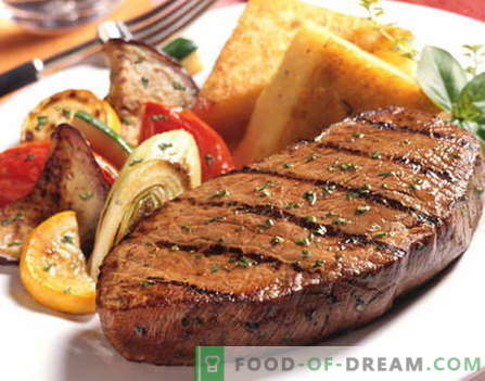 Filete de ternera - las mejores recetas. Cómo cocinar correctamente y sabroso el filete de ternera.