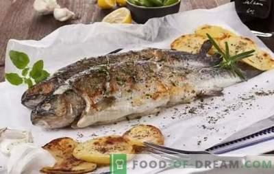 ¡Pescado, todo está delicioso a la parrilla! Recetas de pescado a la parrilla de mar y río: ayuda de cocina para pescadores y amantes del pescado sabroso