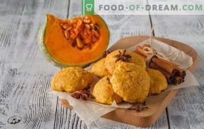 Galletas de avena fragantes y tiernas con calabaza. Cómo hacer verdaderas galletas de avena con calabaza, como en la infancia