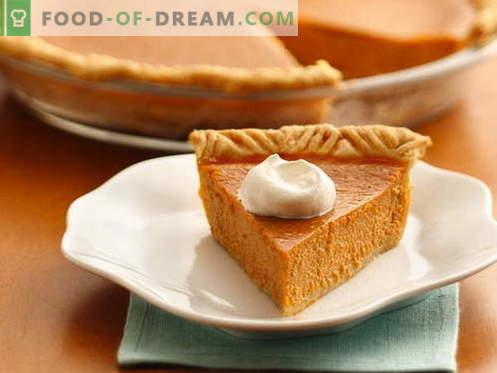 Pastel de calabaza - las mejores recetas. Cómo cocinar correctamente y sabroso un pastel de calabaza.