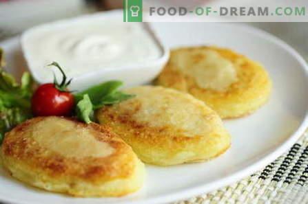 Potato zrazy - las mejores recetas. Cómo hacer correctamente y sabrosa la patata cocida zrazy.