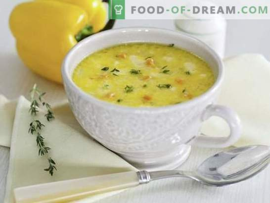 Cómo hacer sopa en 15 minutos: opciones rápidas de primer plato