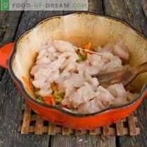 Sopa de pollo italiana