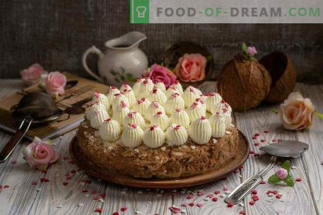 Кученска кокосова торта - райска наслада