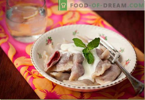 Empanadillas con cerezas - las mejores recetas. Cómo cocinar de forma adecuada y sabrosa las albóndigas con cerezas en casa.