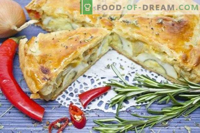 Tarte aux oignons - Provence Classic