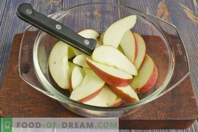 Souffle de manzana con gelatina