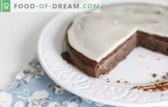 El glaseado de crema agria es una excelente adición al horneado casero. Las mejores recetas para el glaseado de crema agria con cacao, zumo de limón, chocolate