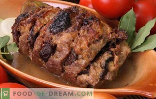 Turquía con ciruelas: ¡comemos un pájaro de fruta! Secretos de cocina y recetas de delicioso pavo con ciruelas pasas