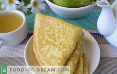 Los panqueques con leche agria son los más esponjosos y rojizos. Aprende los secretos culinarios de cocinar tortitas con leche agria