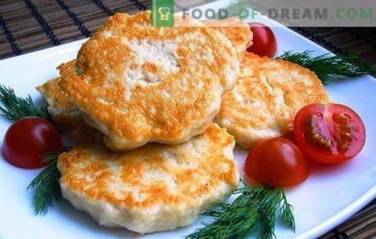Chuletas de pollo con mayonesa - ¡dale jugosidad! Recetas de chuletas de pollo ordinarias y picadas con mayonesa