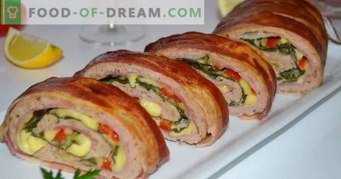 Rollos festivos: rápido y sabroso: una selección de las mejores recetas de rollos