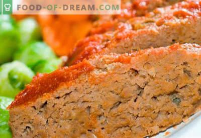 Rundssoufflé - de beste recepten. Hoe om snel en smakelijk soufflé van rundvlees te koken.
