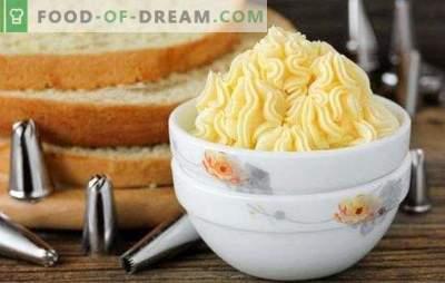 La crème sur les jaunes est délicieuse! Plusieurs options pour la crème sur les jaunes et les desserts avec lui: tartes et mousses