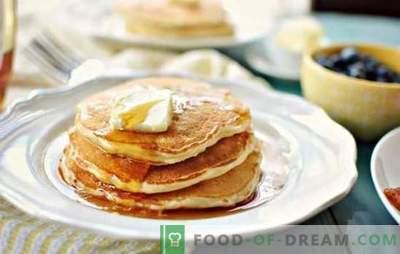 Tradiciones de la cocina eslava: panqueques con leche (paso a paso). Cómo cocinar panqueques con leche: recetas paso a paso con y sin levadura