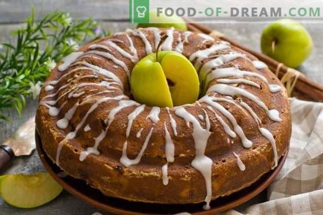 Apple Charlotte - un pastel para todas las ocasiones