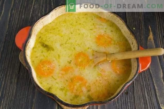 """Daržovių sriuba išrūgų """"Syrbushka"""""""