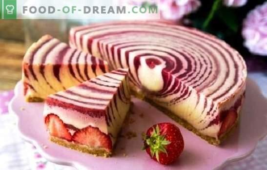El pastel de cebra (receta paso a paso) es un postre original sin mucho esfuerzo. Recetas paso a paso