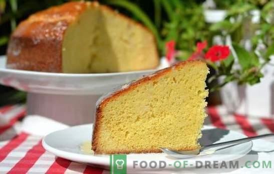 Ванилин бисквит: готвењето не бара вештини! Најдобрите рецепти за бујна, воздух ванила бисквит на млеко или павлака