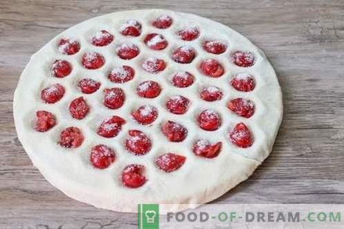 ¡Las albóndigas dulces con cerezas son inusuales y apetitosas!