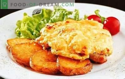 Chuletas de cerdo con tomate y queso - ¡jugosas! Cómo cocinar chuletas de cerdo con tomate y queso