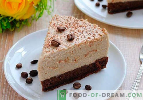 Cake Mousse - las mejores recetas. Cómo cocinar correctamente y sabroso mousse de pastel.