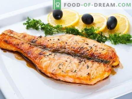 Los platos hechos de salmón rosado son las mejores recetas. Cómo cocinar correctamente y sabroso el salmón rosado.