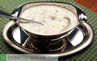 Сос од павлака - најдобриот рецепт. Како правилно и вкусно да се направи сос од павлака.
