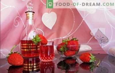 ¿Cómo hacer vino de fresa casero? Baya romántica y fragante en recetas de vino caseras de fresa
