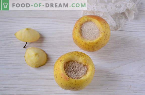 Manzanas en el horno con azúcar: un plato útil y simple para el postre. Cómo hornear manzanas con azúcar en el horno: la receta detallada del autor con fotos