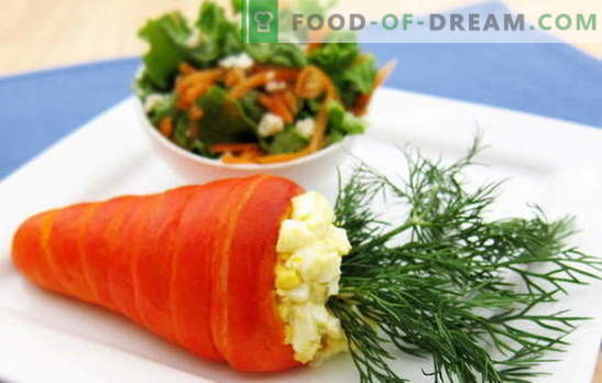 Ensalada De Zanahorias Y Huevos Una Combinación De Sabor Y