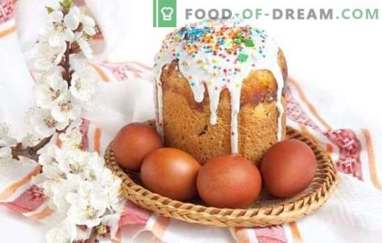 Kulichi sobre levadura - preparándose para unas vacaciones brillantes. Recetas de tartas caseras de Pascua con levadura con frutas confitadas, requesón y otros