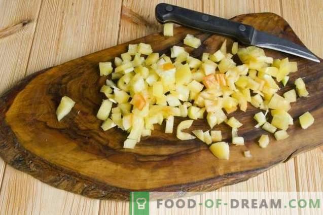 Calabacines rellenos al horno en el horno