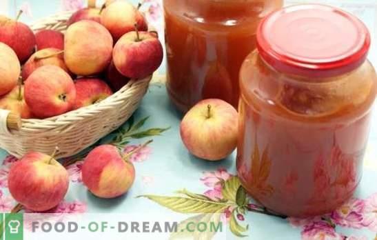 Mermelada de manzanas a través de una picadora de carne: ¡tecnología simplificada! Recetas de varias manzanas de manzanas a través de una picadora de carne para un invierno dulce