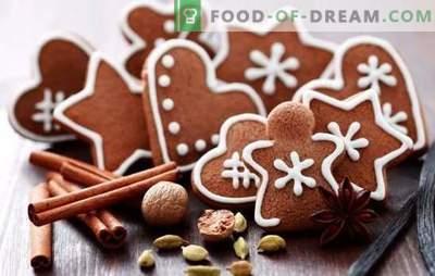Pan de jengibre navideño: un cuento de hadas y un aroma de felicidad en la casa. Aprende a hacer pan de jengibre de Navidad real