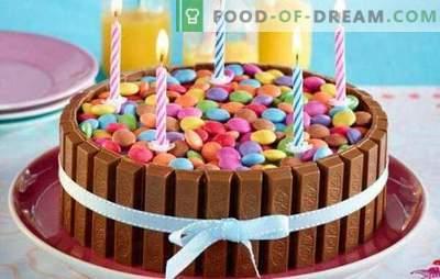 Tortas de chocolate - inusual siguiente! Recetas de chocolate original, tartas de chocolate blancas y oscuras