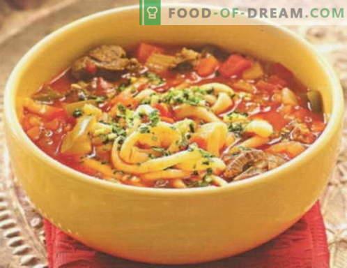 Lagman - las mejores recetas. Cómo cocinar adecuadamente y sabroso lagman.