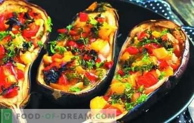Berenjenas útiles con champiñones en el horno: ¡te chuparás los dedos! Plato de berenjenas con champiñones y queso en el horno: ¿qué podría ser más sencillo?