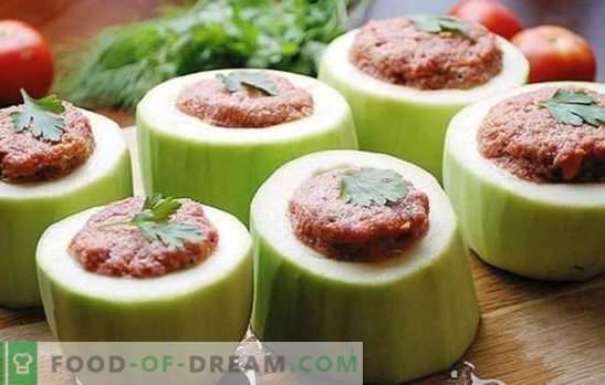 Calabacín relleno en una olla de cocción lenta: ¡todo es posible! Recetas de calabacín relleno en una olla de cocción lenta: con verduras, cereales, carne