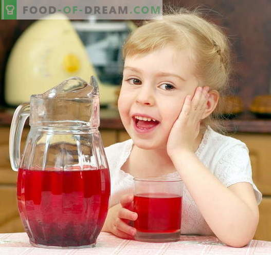 Compota para un niño - las mejores recetas. Como compota adecuada y sabrosa para el niño.