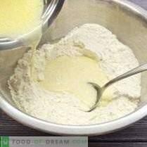 Pasteles en tazas para muffins