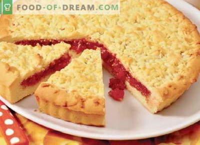Le torte di marmellata sono le migliori ricette. Come cucinare correttamente e gustoso una torta con marmellata.