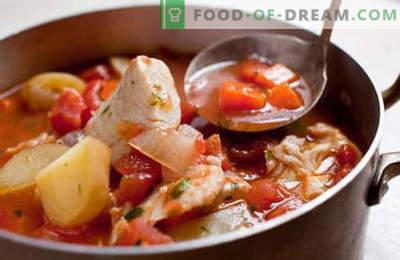 Guiso de pescado - las mejores recetas. Cómo cocinar correctamente y sabroso guiso de pescado.
