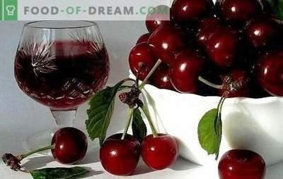 Tecnología del vino cherry en casa. Recetas de marcas populares: vino de cereza inusual en casa