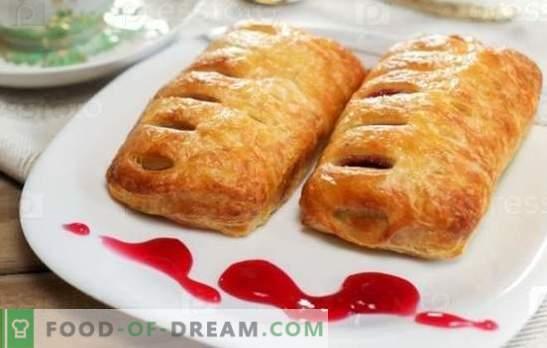 Muffins con mermelada - dulces para el té! Recetas para bollos con levadura, sin levadura, hojaldre y mermelada de requesón
