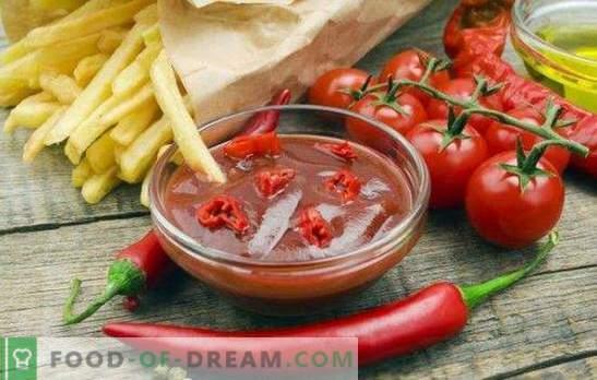 Ketchup para el invierno a partir de tomates: una salsa indispensable para cualquier plato. Las recetas caseras más deliciosas y originales para el invierno a partir de tomates.