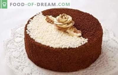 Pastel de día y de noche: un nombre - recetas diferentes. Cómo cocinar un delicioso pastel