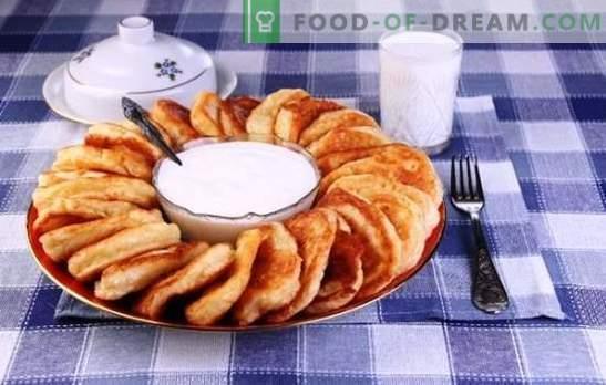 Buñuelos en leche - las mejores recetas y consejos. Cómo cocinar panqueques deliciosos y esponjosos con leche