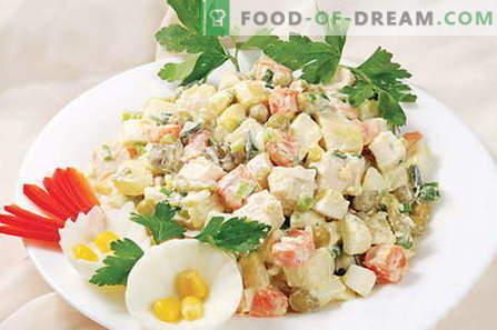 Ensalada de capital - las mejores recetas. Cómo cocinar adecuadamente y deliciosamente la ensalada Capital.